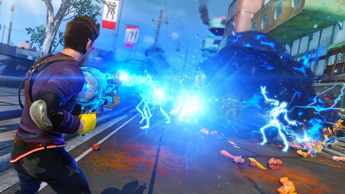 sunset overdrive action shot