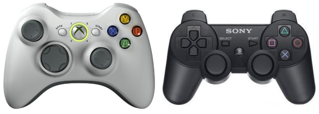 xbox-360-and-ps3-controllers