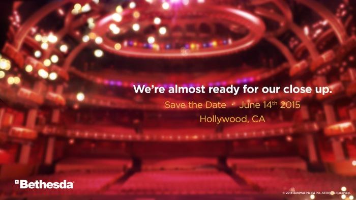 Bethesda E3 conference reveal