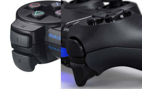 Dualshock 3 and 4 triggers